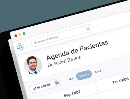Software médico para clínicas e consultórios na nuvem